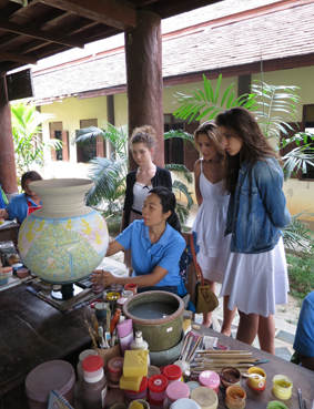 So wird es gemacht: ChiangMai Celadon