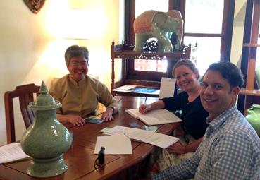Sie wurde befragt: Khun Tassanee – die Geschäftsführerin der ChiangMai Celadon
