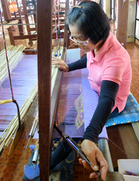 Haripunchai Institut of Hand-Woven Fabric