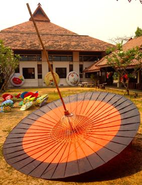 im Umbrella Making Center Chiang Mai