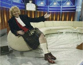 Wetten, dass Talkshow-Superstar Thomas Gottschalk im Rettl-Kilt moderiert hat? (Foto: Gert Eggenberger)