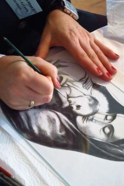 beim Hinterglasmalen Altstadt - Atelier Manuela Eibensteiner