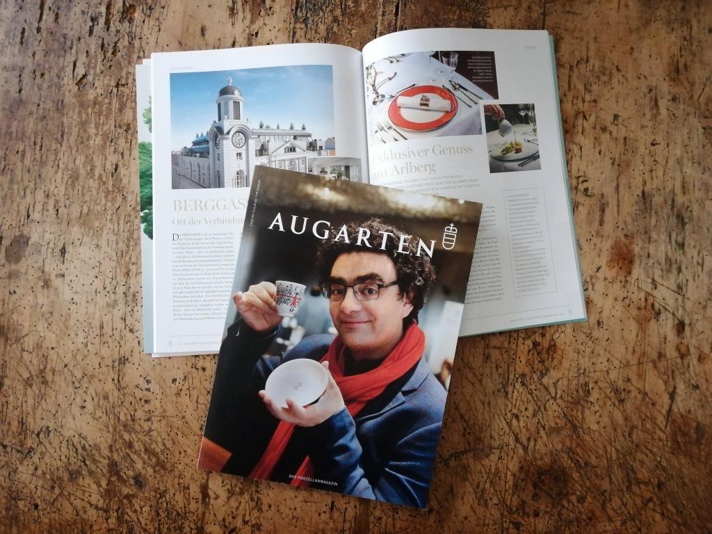 """Die MEISTERSTRASSE im aktuellen """"Augarten - Das Porzellanmagazin"""""""